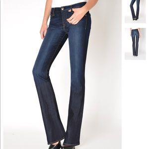 Fidelity Belladonna Mid Rise Bootcut Jeans 27